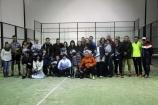 El I Torneo Solidario de Pádel de Aguilar consigue recaudar 350 euros que irán destinados a 'Cáritas'