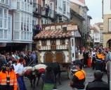 La carreta 'La serrería del tío Ángel' gana el certamen del Día de Campoo