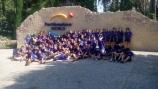 Cuatrocientos jóvenes de toda la provincia están disfrutando de los cuatro campamentos deportivos de verano ofertados por la Diputación