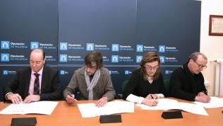 El pleno de la Diputación aprueba con el apoyo de PP, PSOE y Ganemos y la abstención de Ciudadanos el Reglamento del Consejo del Diálogo Social