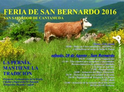 La Pernía acogerá este fin de semana una nueva edición de la Feria de San Bernardo