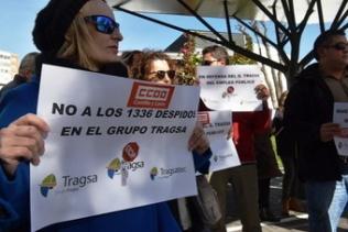 La vicepresidenta de la Junta, Rosa Valdeón, insta a la Administración del Estado a retomar las negociaciones sobre la situación laboral de los trabajadores de Tragsa