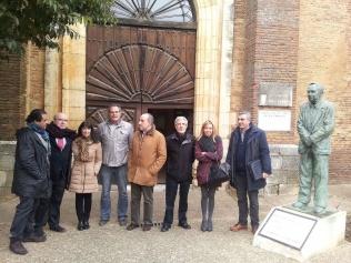 Se inicia el proyecto para que el templo de San Pedro de Saldaña se convierta en un espacio museístico moderno