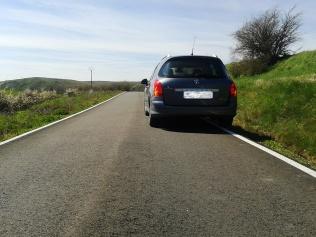 La Junta Vecinal y el PSOE exigen la adecuada finalización de la renovación de la carretera de Cordovilla de Aguilar