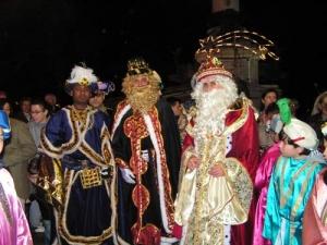 Cabalgata de los Reyes Magos en Aguilar de Campoo