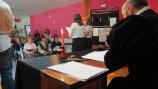 El Club de Lectura de Aguilar celebró el pasado viernes el Día del Libro junto a los usuarios de la Residencia Tercera Actividad