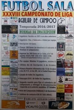 161006. XXXVIII Campeonato de Fútbol Sala de Aguilar