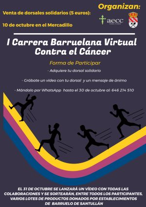 I Carrera Barruelana Virtual Contra el Cáncer