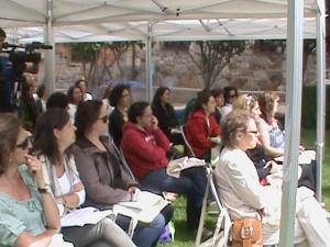 Entrevista sobre el II Encuentro Empresarias y Emprendedoras de la Montaña Palentina