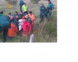 La Guardia Civil localiza a la mujer desaparecida en la localidad de Osorno, después de pasar dos días perdida, durmiendo al raso