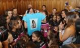 Palencia homenajea a la entrenadora del Conjunto Nacional de Gimnasia Rítmica, Sara Bayón
