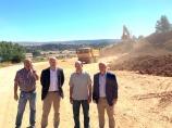 La Diputación ensancha y mejora la carretera de Payo a Quintanatello de Ojeda