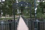 El lunes, 6 de octubre, comienzan las obras de sustitución de la pasarela del Parque de La Isla en Aguilar de Campoo