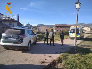 La Guardia Civil rescata a un montañero accidentado en Pico Tremaya