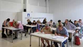 16 alumnos participan en el V Taller de Caligrafía Medieval de la Fundación Santa María la Real